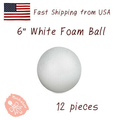 3cm Round Styrofoam Balls Polystyrene Sphere White Craft LOT Art L0M9 Foam K6E6