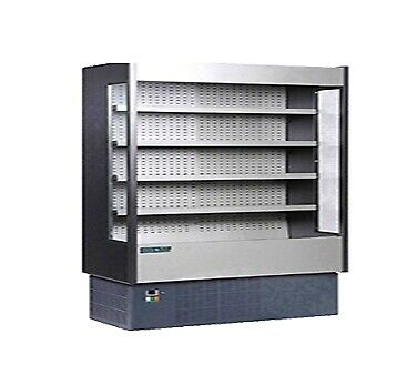 MVP Group KGH-OF-100-R Open Refrigerated Display Merchandiser