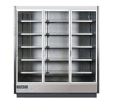 MVP Group KGV-MR-3-R Merchandiser Refrigerator