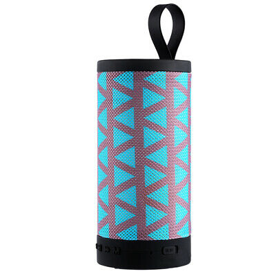 USB Portable Outdoor Bluetooth Speaker Cylindrical Sound Battery Powered Stereo