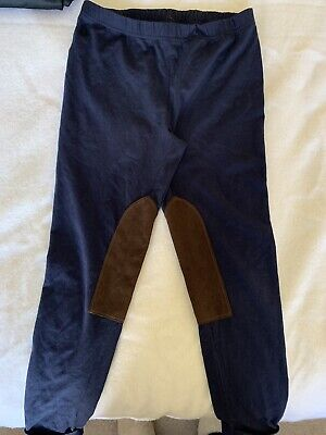 POLO RALPH LAUREN Navy Blue Leggings - Size M (Girls 8/10)