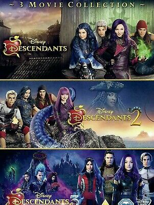 Descendants 1 2 3 DVD 1-3 dvd 3 movie collection boxset New and sealed