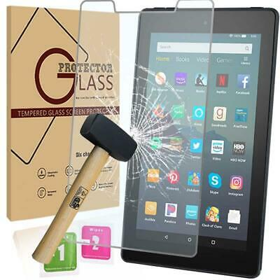 Tablet Tempered Glass Screen Protector For Amazon Fire 7 (9th Gen 2019) alexa