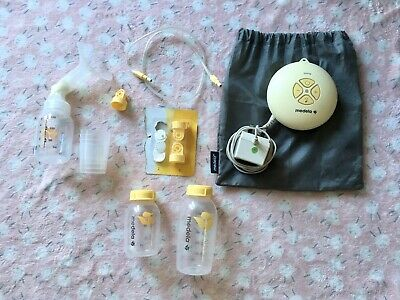 Medela Swing Electric Single Breast Pump with extras