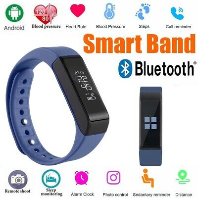Smart Watch Sport Fitness Tracker Step Counter Pedometer Calorie Heart Rate Ut
