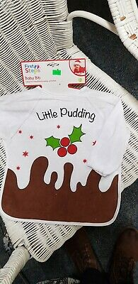 Baby And Toddler Full Sleeved Bibs For Xmas