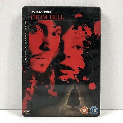 From Hell - Region 2 DVD - Definitive Edition - 5039036033473