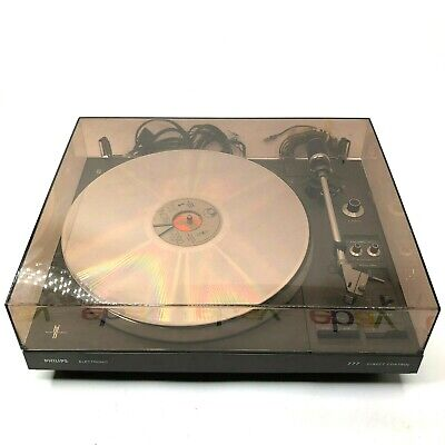 Philips AF-777 Direct Control Fully Automatic Turntable Record Player Belgium