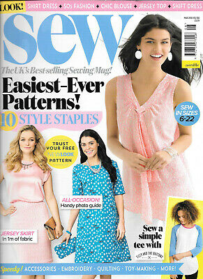 Sew Magazine, Issue 108, March 2018.    No free patterns  included