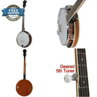 Jameson Guitars 5 String Banjo 24 Bracket With Closed Solid Back And Geared 5Th