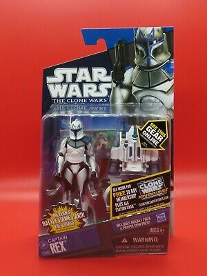 Hasbro Star Wars The Clone Wars CW62 Captain Rex with Jet Pack MOC