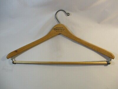 Vtg. Palm Springs Spa Hotel And Mineral Springs Wooden Clothes Hanger
