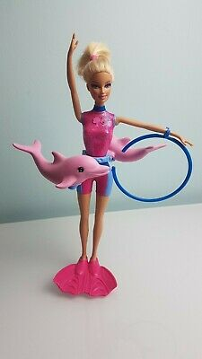 Barbie 'I Can Be' Splash & Spin Dolphin Trainer Doll