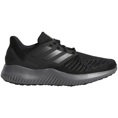 Mens Adidas Alphabounce RC 2.0 Black Running Athletic Shoes AQ0551 Sizes 9.5-13