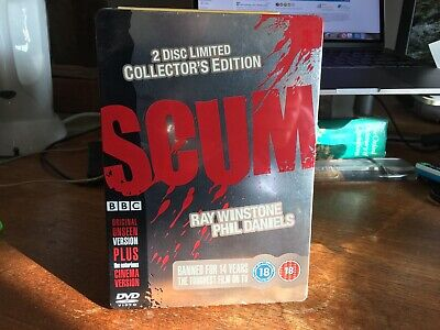Scum (2-Disc DVD Steelbook Limited Edition) Ray Winstone; New & Sealed