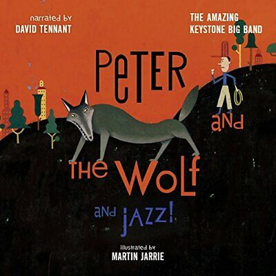 David Tennant - Peter and the Wolf and Jazz! (Narrated by David Tennant) [CD]