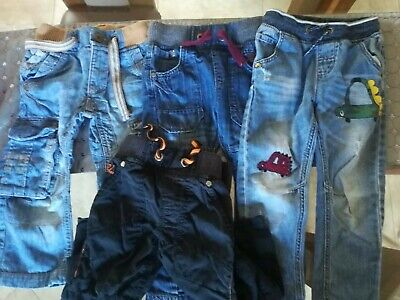 4x NEXT 3 Years Boys Jeans trousers
