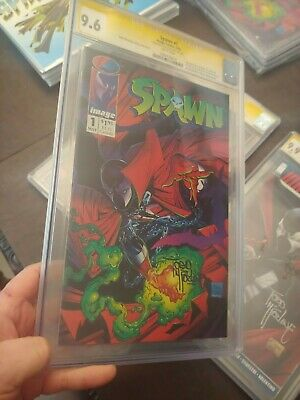 Spawn #1 Cgc Ss 9.6 1St App Of Spawn Al Simmons Todd Mcfarlane