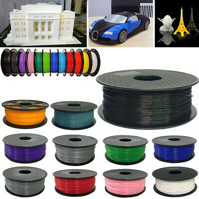 Premium 3D Printer Filament 1kg/2.2lb 1.75mm 3mm PLA ABS Wood RepRap MarkerBot
