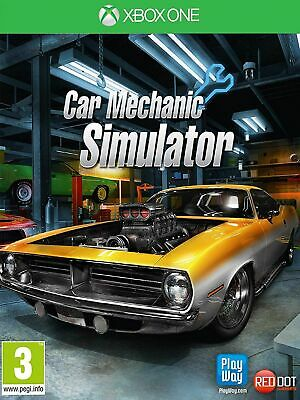 Car Mechanic Simulator (Xbox One) New & Sealed UK PAL Free UK P&P In Stock