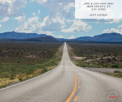DRONE VIDEO INCL -> 2.27 Acres in Iron County, Utah (Financing avail for $99/mo)