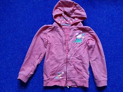 Peppa pig zip hooded cardigan for age 6-7. Very Good used  cond