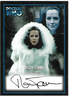 Doctor Who - Series Two Autograph Card AU6 Mary Tamm - Romana