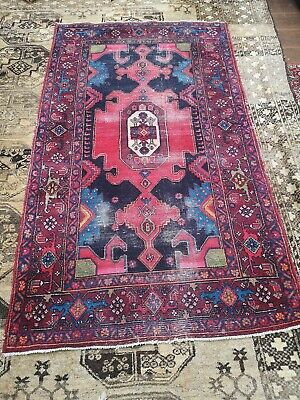 Hand-knotted, Antique RARE  Persi@n / Afghan  Beluch  Rug Beautiful