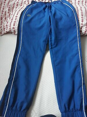 Lacoste tracksuit bottoms...Age 10 yrs nwot