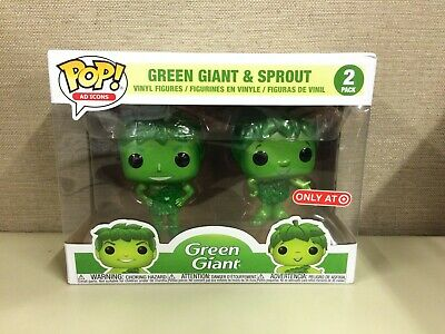 Funko Pop! Ad Icons: Green Giant & Sprout 2-Pack Metallic Target Exclusive