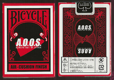 1 DECK Bicycle A.O.O.S. Japan custom playing cards