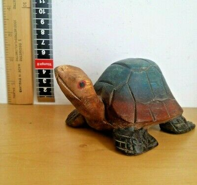 Wooden tortoise ornament