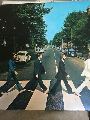 The Beatles, Abbey Road Vinyl Lp US On Capitol I Tree