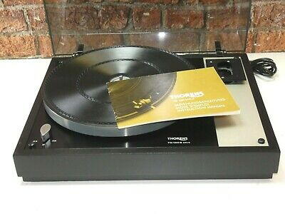 Thorens TD 160 MKII Vintage Hi Fi Separates Vinyl Record Player Deck Turntable