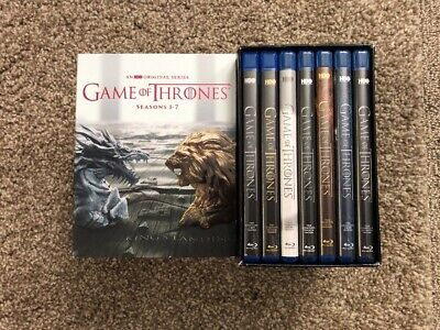 Game of Thrones: The Complete Seasons 1-7 (Blu-ray Disc, 2017)