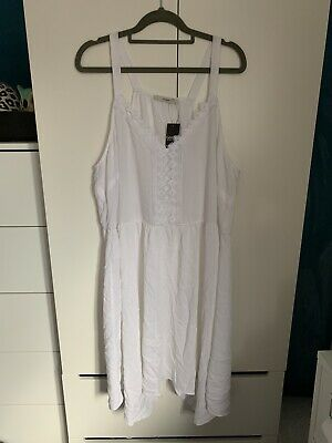 George White Dress Size 18 Brand New With Tags