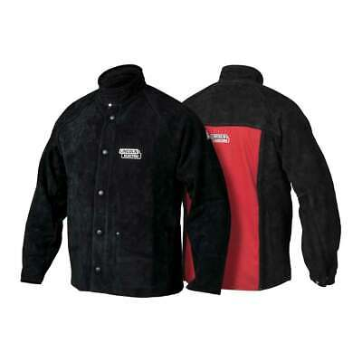 Lincoln Electric K2989 Heavy Duty Leather Welding Jacket 2X-Large
