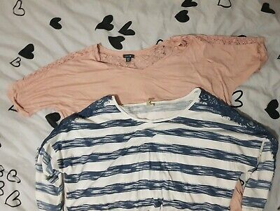 Maternity Clothes Bundle Tops Size 16 & M Pumpkin Patch Brand