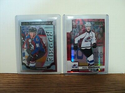 2015-16 OPC Platinum Mikko Rantanen Marquee Rookie + Red Prism (#/199) lot
