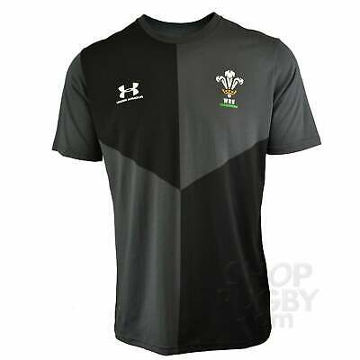 Under Armour Galles Rugby Grafica Junior T-Shirt 2019-2020 - Jet
