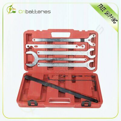 New For Mercedes-Benz & Bmw Fan Clutch Service Holder Wrench Tool Set