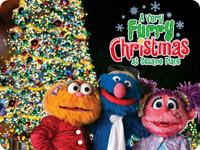 Sesame Place A Very Furry Christmas Tickets Promo Discount Savings Tool