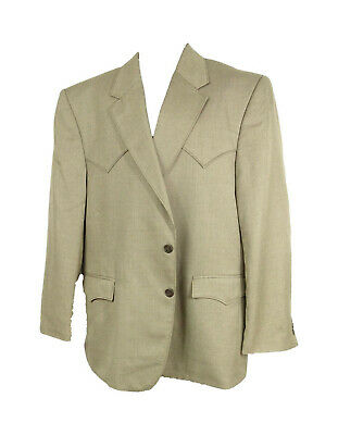 Mens Circle S Coffee Bean Houston Sportcoat Size 48R CC4626