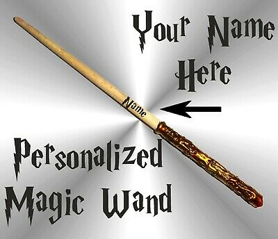Harry Potter Like 10 inch Magic Wand Personalized Wizard Hermione Shipping Free