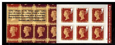 2016 barcode  booklet 175 th ANNIVERSARY OF THE PENNY RED