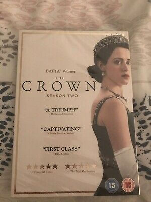 The Crown Season 2 UK DVD Brand New and Sealed & Free postage