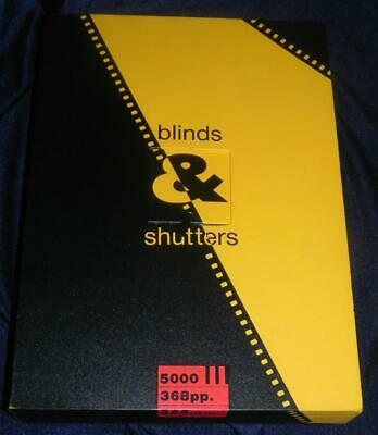 Blinds and Shutters Signed Michael Cooper 1990 Rare #1967/5000 VG+!!