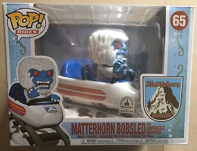 Funko Pop Rides *Matterhorn Bobsled* #65 Abominable Snowman (Disney Parks Excl)