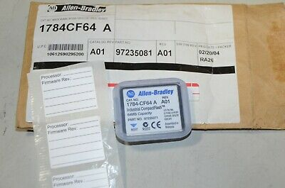 Allen Bradley Logic 556X Industrial Compact Flash 1784-CF64 97235081 PM040219