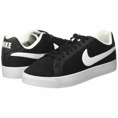 NIKE COURT ROYALE LW TXT Men's Shoes Sneakers Black 833273